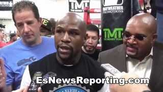 floyd mayweather about his dad taking thins too personal - EsNews