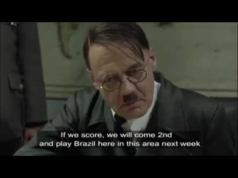 Hitler reaction to Germany going of world cup 2018. Very very funny!