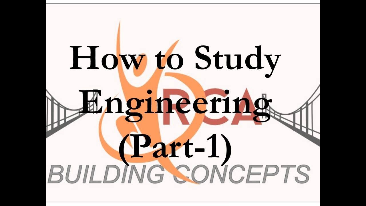 how to study engineering