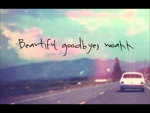 Maroon 5 - Beautiful Goodbye - (Overexposed) - Lyrics