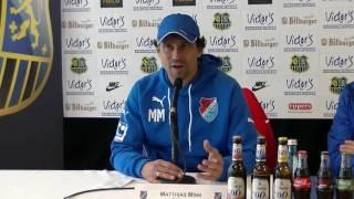 1. FC Saarbrücken - TSV Steinbach |Pressekonferenz nach dem Spiel 18.Spieltag 16/17