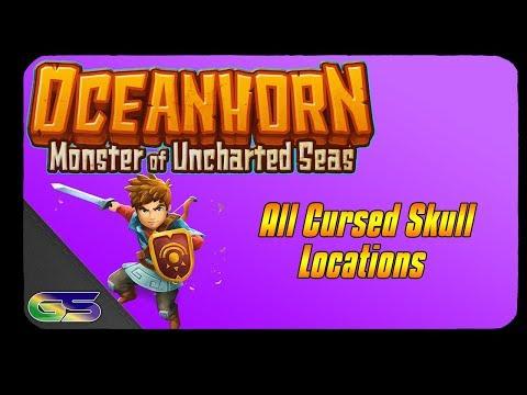 Oceanhorn All 10 Cursed Skull Locations
