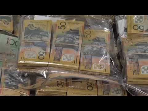Police Charge Two men and  seize $27m drugs and $4.3m cash