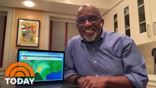 Al Roker Does The Weather Forecast From Home | TODAY