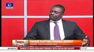 Taraba Tribunal: INEC's Hands Are Tied By Law – Onigbanjo Pt.1 10/11/15