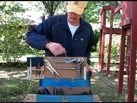 How to easily build a highly organized tool box part 1 for Tools to build a house