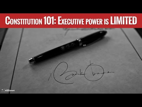 Executive Power under the Constitution