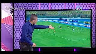 نصائح أحمد عفيفي للاعبي الزمالك بعد أداء مباراة الإنتاج الحربي - الكرة مع عفيفي