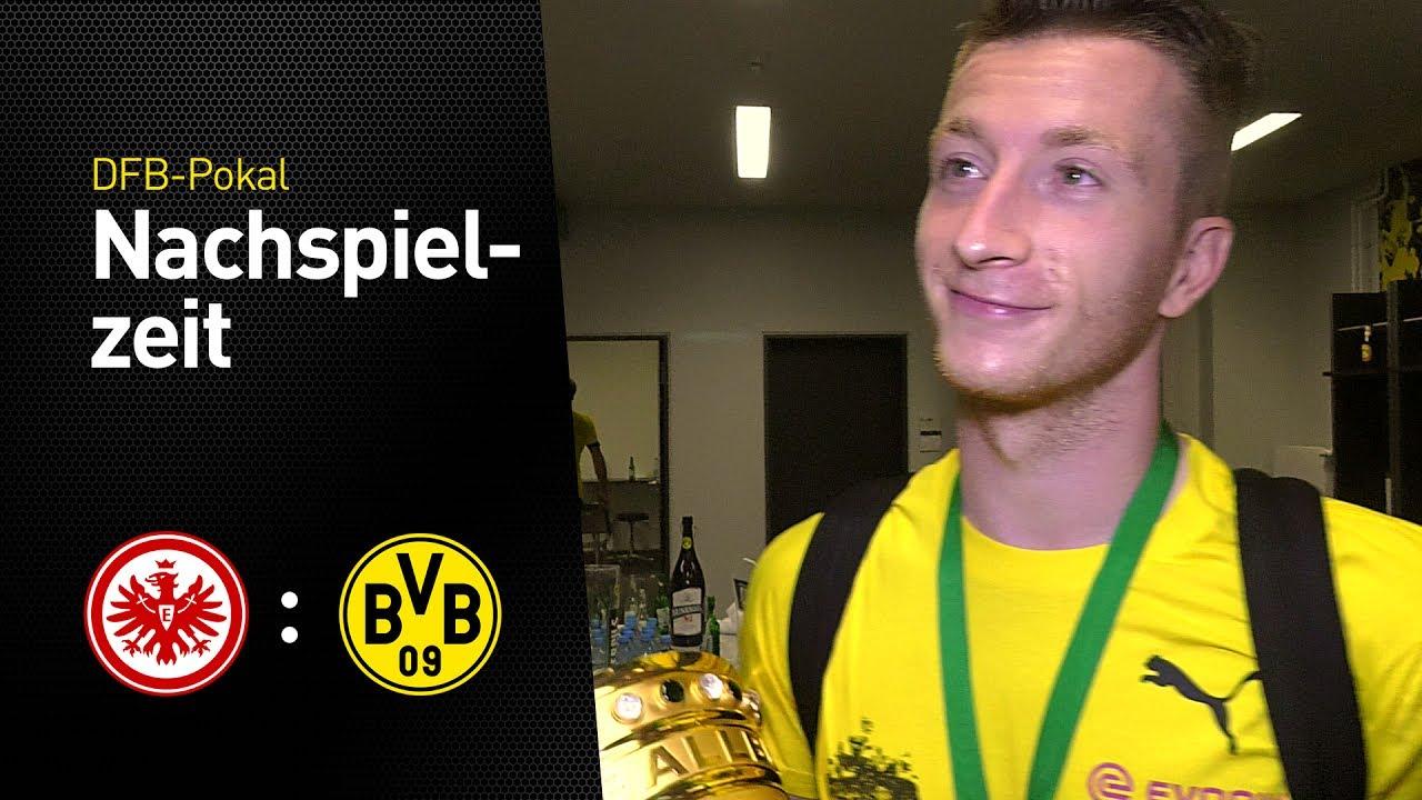Pokalsieger-Interview mit Marco Reus | Eintracht Frankfurt - BVB 1:2