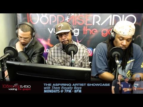 #VoicingTheGospel - Mondays - The Aspiring Artist Showcase Show - 7pm - 8pm (est)