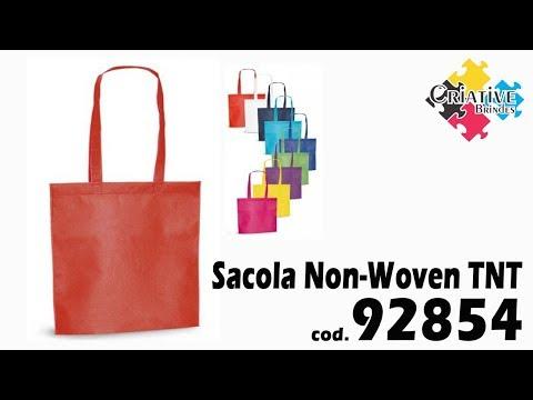 Sacola Non-Woven TNT 92854 Personalizada - Criative Brindes