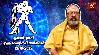 Kumbam Rasi Guru Peyarchi Palangal 2018 - 2019   Tamil Astrology   #Nettv4u