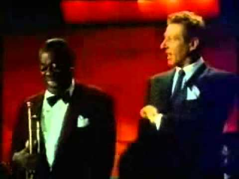 louis armstrong, danny kaye scat singing