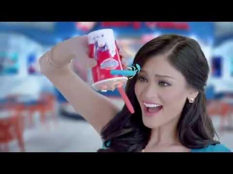 DairyQueen Philippines Christmas TVC with 2015 Binibini Queens