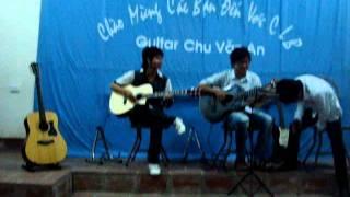 Guitar CVA .||.Nỗi nhớ theo màn mưa   Xuân Biển, guitar Mr Kang, Duy Khương