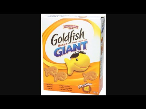 Goldfish The Movie: Search For The Giant Crackers