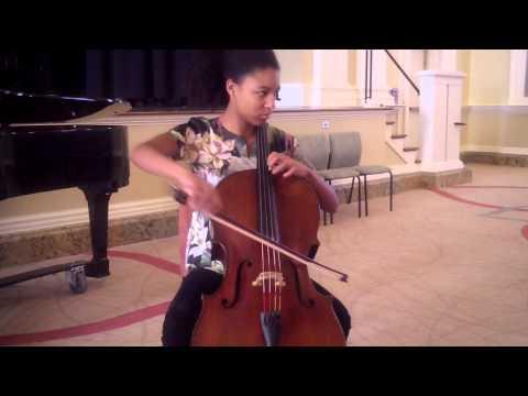Myrtil Mitanga- Haydn Cello Concerto in D Maj. Mvmt. I