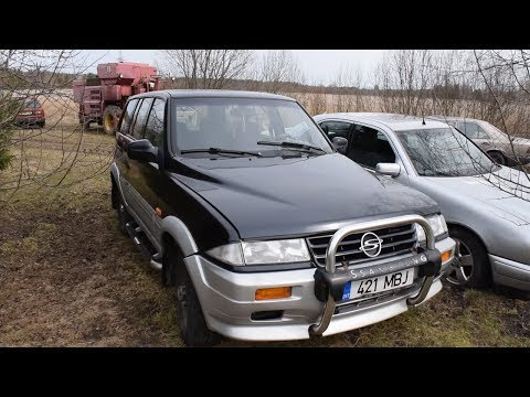 Starting 1996 Ssangyong Musso 2.9D After 7 Months