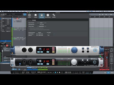 PreSonus Forums | Studio One 3 5 Audio Dropout Protection and Low