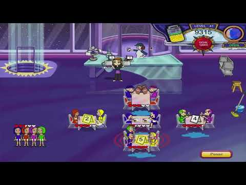 Diner Dash 3: Flo On The Go Walkthrough - Level #41 - Rocket - Four Things At Once