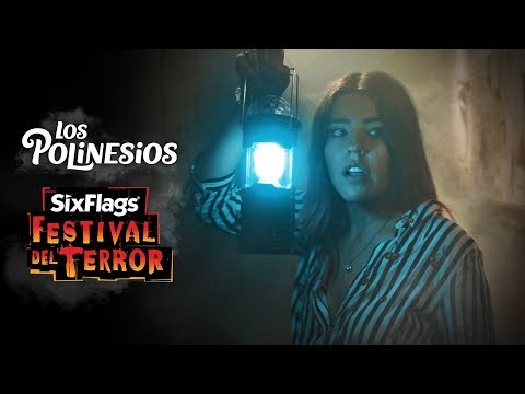 a-curse-is-released-in-our-house-|-los-polinesios-six-flags-horror's-festival