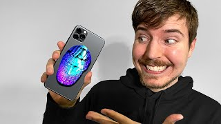 Surprising_MrBeast_With_A_Custom_iPhone_11!!📱📞_(Giveaway)