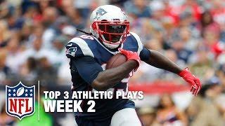 Top 3 Most Athletic Plays (Week 2) | NFL NOW