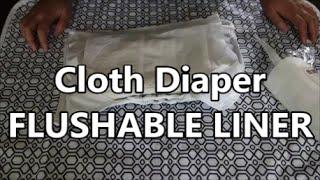 Cloth Diaper FLUSHABLE LINER