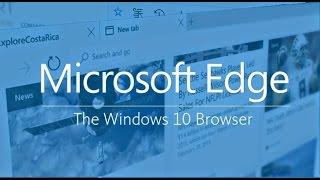[ Windows 10 ] Présentation et Test de Microsoft Edge (fr/Français)