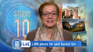 Patricia Schultz's '1,000 Places To See Before You Die'  | Studio 10