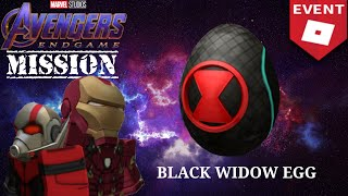 [ROBLOX AVENGERS: ENDGAME Mission] Black Widow Egg(EP.1)