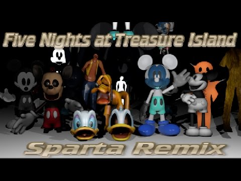 Five Nights at Treasure Island - The Abandoned Remix
