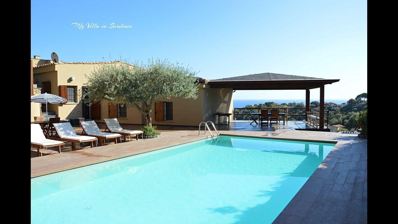 Villa Unifamiliare Con Piscina E Spettacolare Vista Sul Mare Affitto
