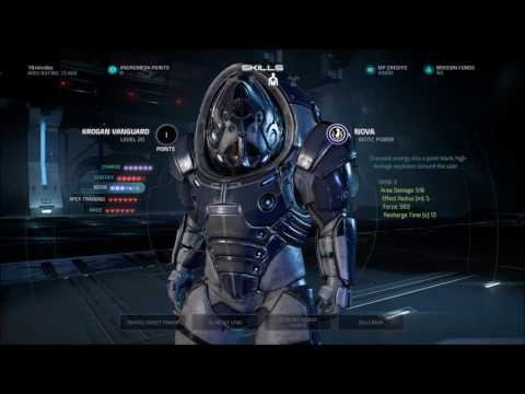 Best Human Kineticist Build Mass Effect Andromeda Multiplayer