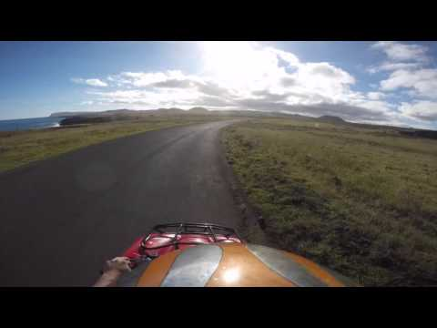 Easter Island Road Trip in 3 minutes