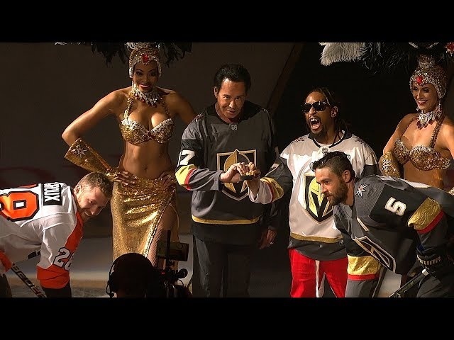 Golden Knights treat fans to another pregame show