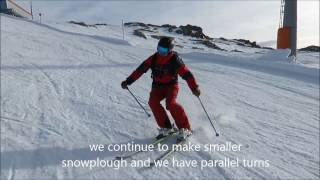 Video Skiing parallel turn simple exercise 2016 download MP3, 3GP, MP4, WEBM, AVI, FLV November 2017