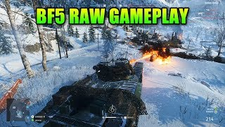 Battlefield V Sounds Amazing RAW Gameplay 1 Hour Tanks Planes Infantry