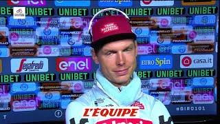 La dception de Martin aprs larrive dAru - Cyclisme - Giro