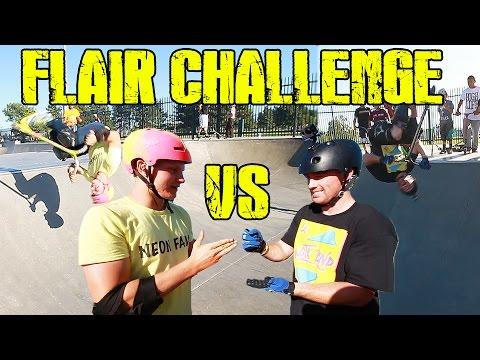 DAKOTA SCHUETZ VS CLAUDIUS VERTESI | FLAIR CHALLENGE