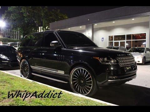 Velar Land Rover >> WhipAddict: Compound Atlanta; Range Rover, Panamera, Gallardo, 22s, 24s, 26s, Luda Weekend - YouTube
