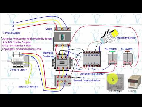 wiring diagram for counter autonics fx4 counter wiring with direct online starter proximity wiring diagram for international 244 tractor autonics fx4 counter wiring with direct
