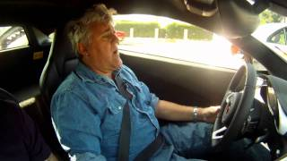JAY LENO TESTS HIS NEW MCLAREN MP4-12C AND MCLAREN F1