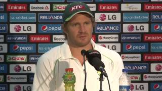 Shane Watson pre Bangladesh match PC