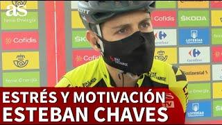La confesión de Esteban Chaves sobre la dificultad para competir en La Vuelta | Diario AS