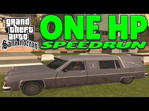 GTA San Andreas One HP Speedrun - Any% thumbnail