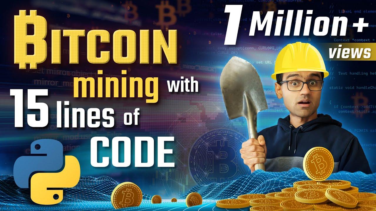 bitcoin mining python