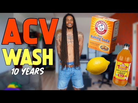 (10 YEARS) ACV RINSE FOR LOCS