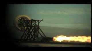 Rocket Sled - NASA Retro-Tech Tests Future Planetary Descents | Video