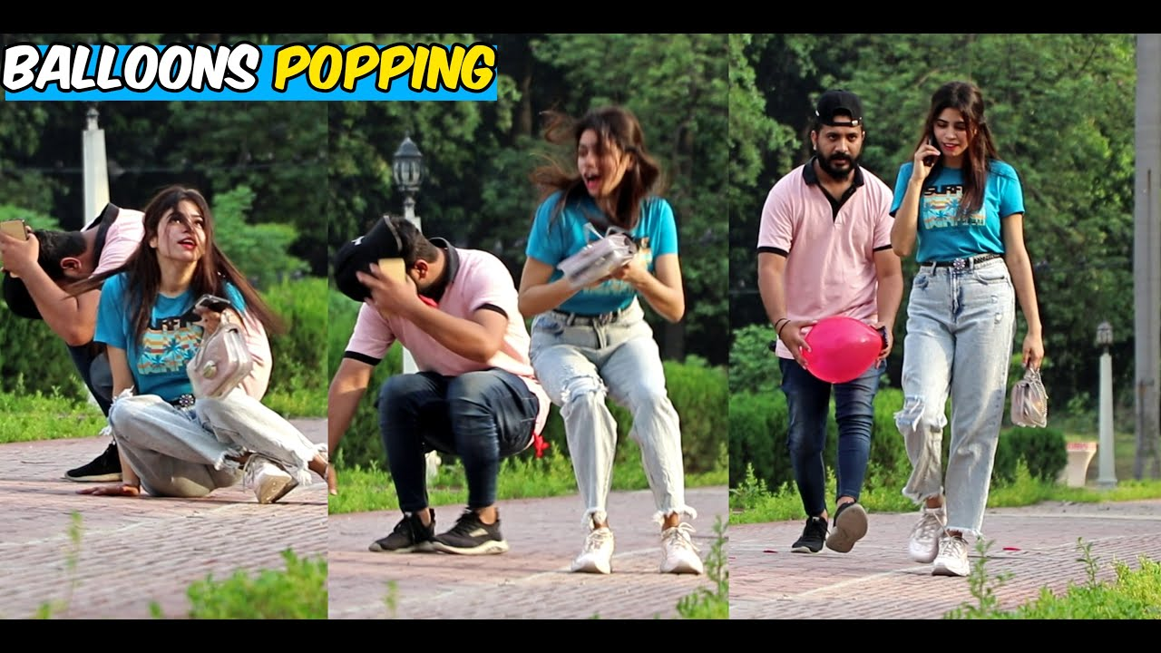 Balloons Popping | EPIC REACTIONS | LahoriFied